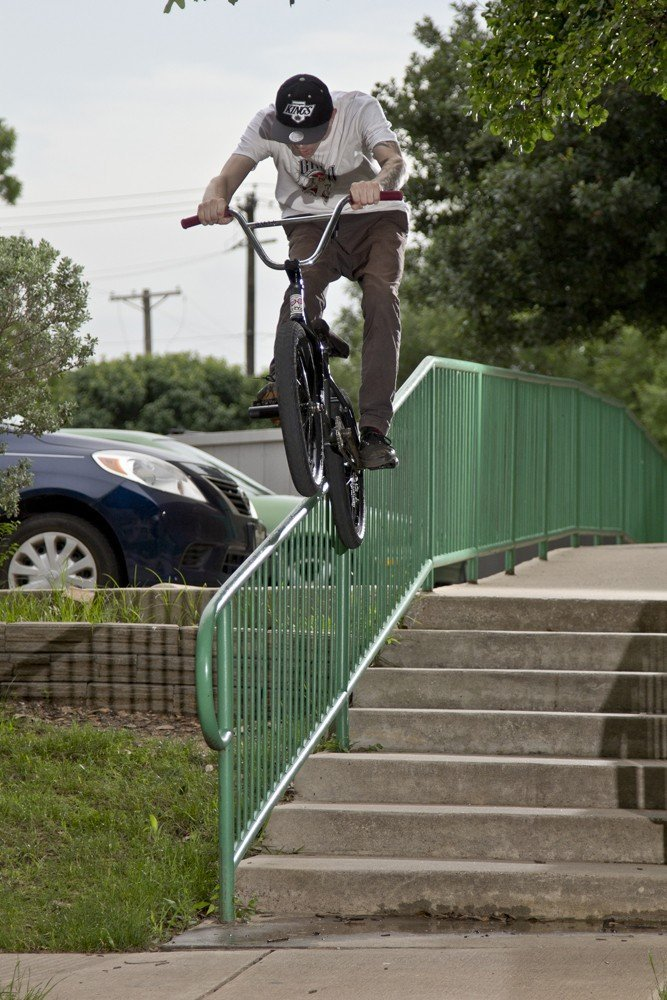 Bike Check Wednesday with Cody Anderson Ice Down rail