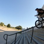 Trent in mid rail slide