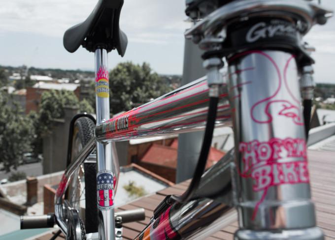 1992 Hoffman Bikes Condor Complete Bike Close up photo by Stuart Potter