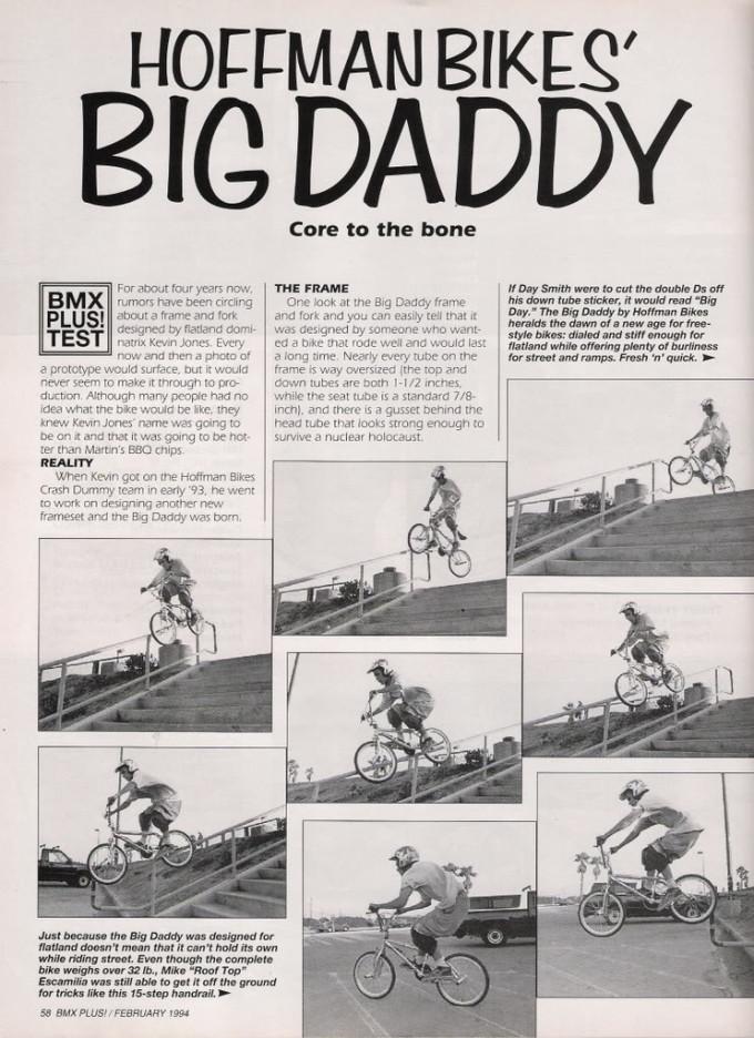 1993 Big Daddy - Bmxplus Test 1