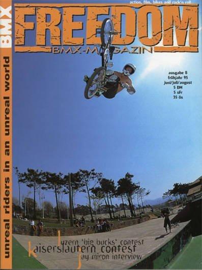 Jay Miron Freedom Bmx Issue 8-1995