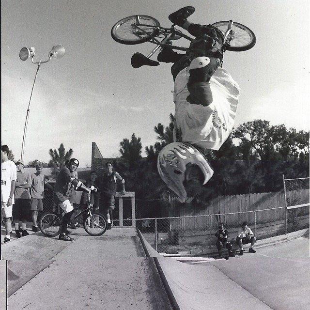 Rick Thorne BS comp 1992 Flordia Backflip
