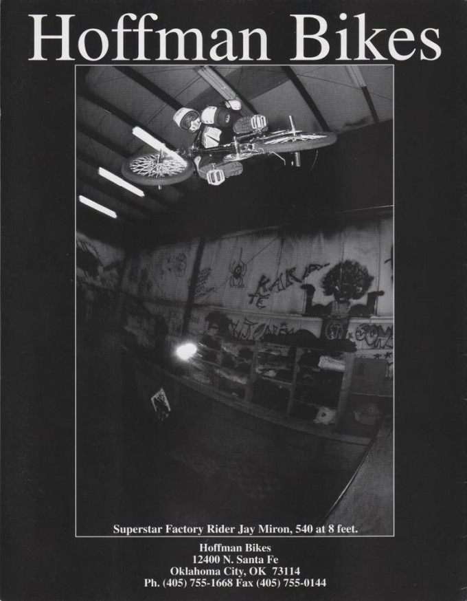 1994 Hoffman Bikes Ad - Jay Miron