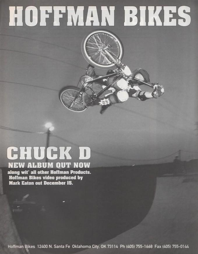 1994 Hoffman Bikes Ad - Mark Owen
