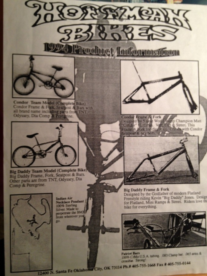 1994 Product Flyer