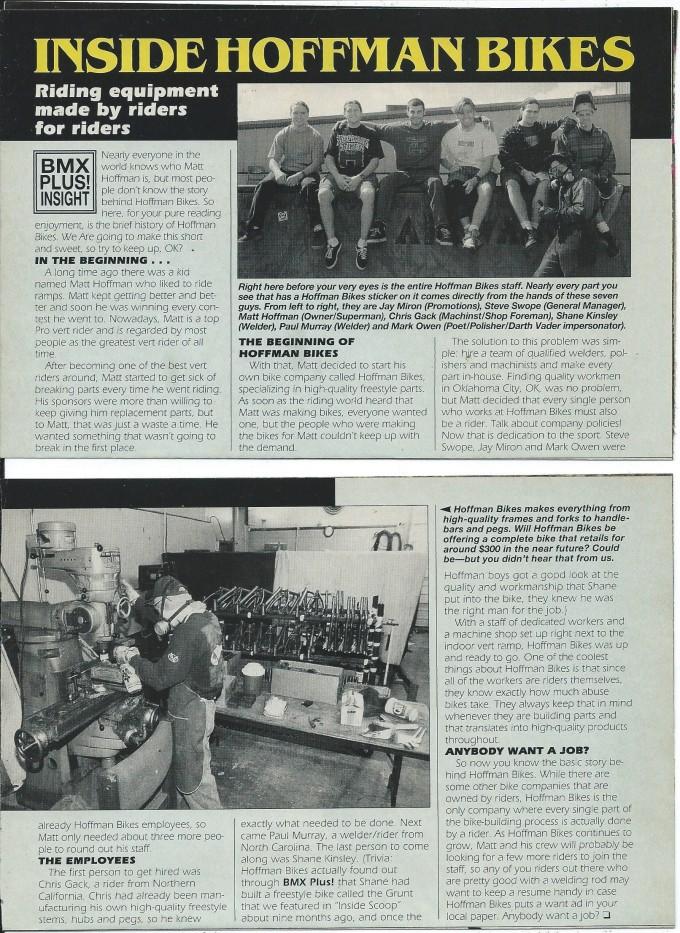 1994 Ramp Room Machine Shop - BMX Plus