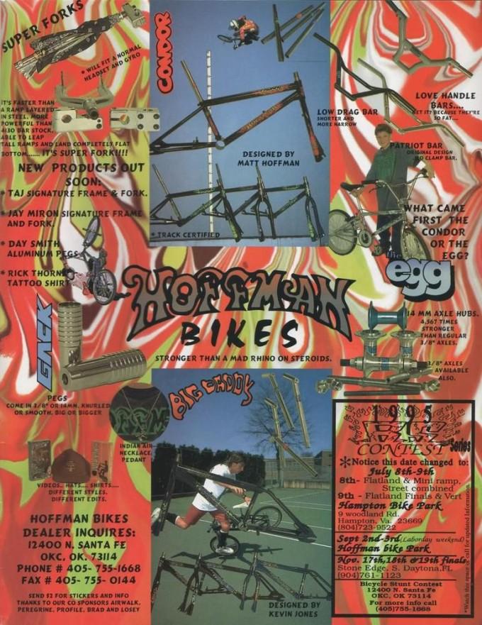 1995 Hoffman Bikes Ad 1