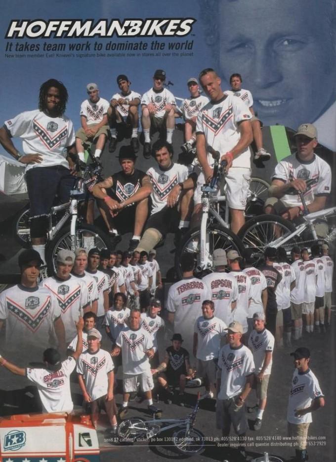 1998 Evil Team Ad