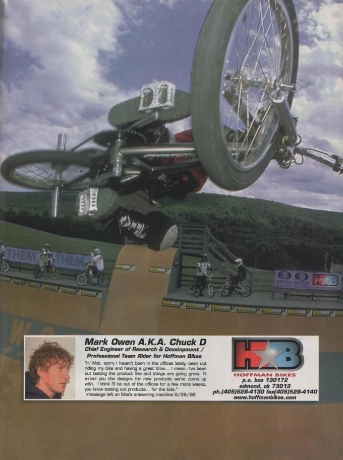 1998 Mark Owen Ad