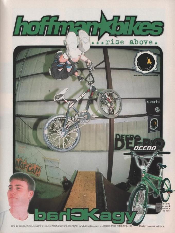 1999 Chad Kagy Deebo Ad
