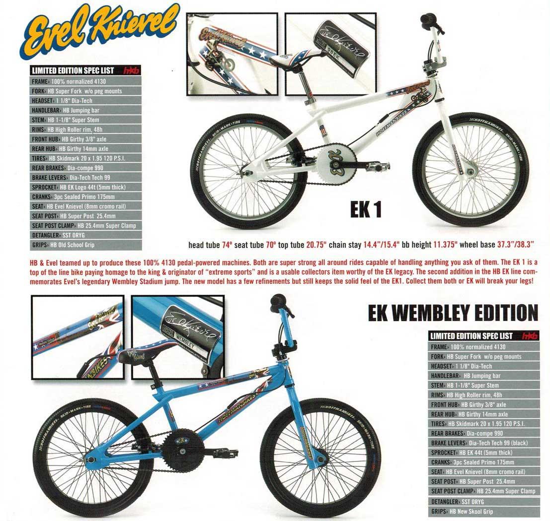 2001 hoffman bikes catalog evel knievel 2