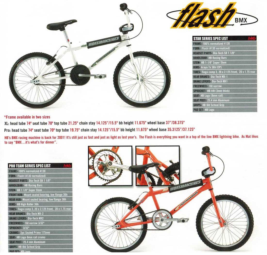6 Days Hoffman Bikes Complete Bike History Bmx Parts Diagram Crank 2001 Catalog Flash