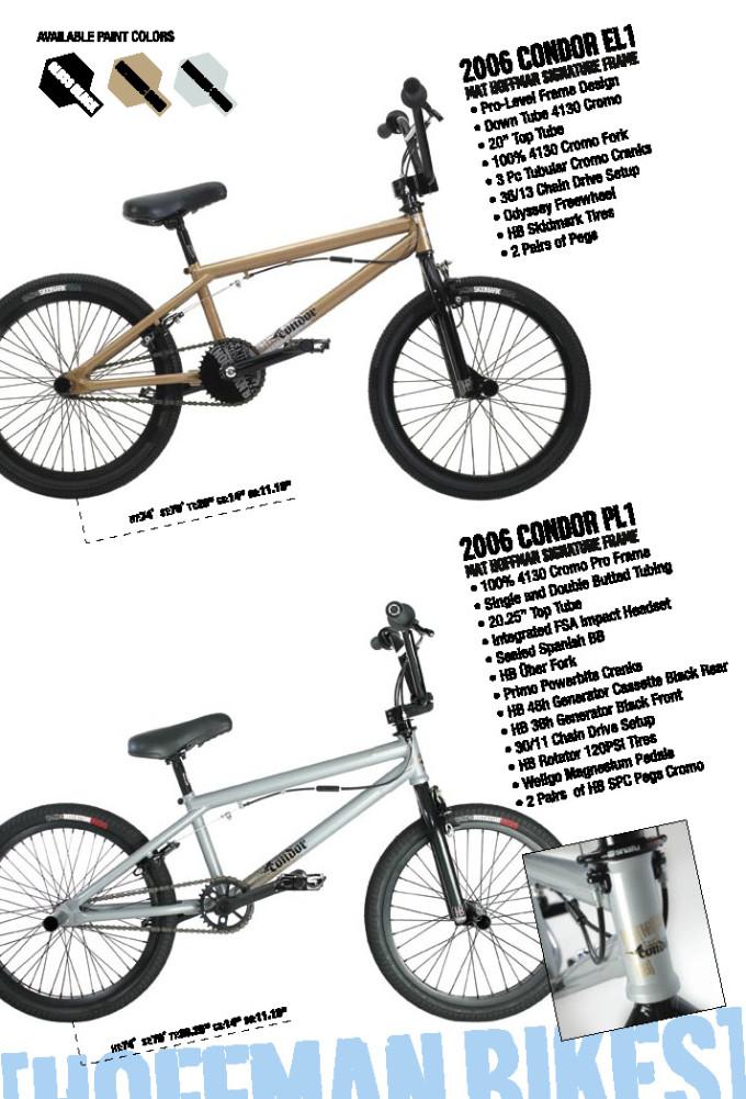 2006 Hoffman Bikes Condor EL and PL