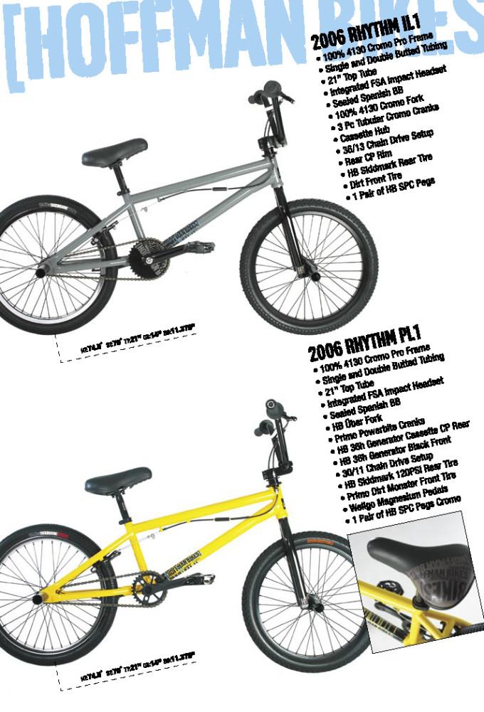 2006 Hoffman Bikes Rhythm IL and PL