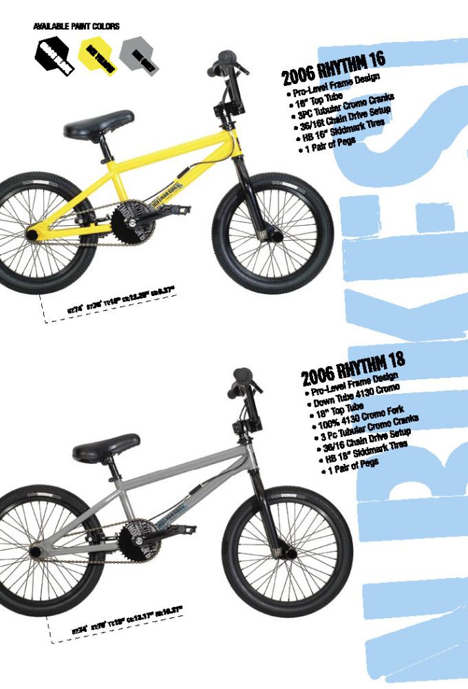2006 Hoffman Bikes Rythem 16 and 18