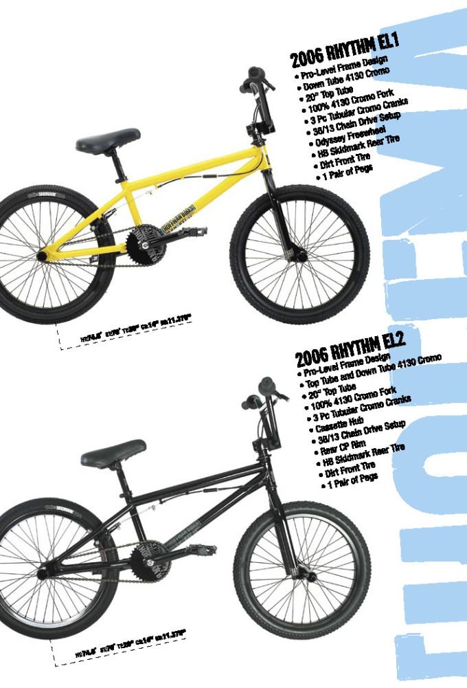 2006 Hoffman Bikes Rythem El1 and El2