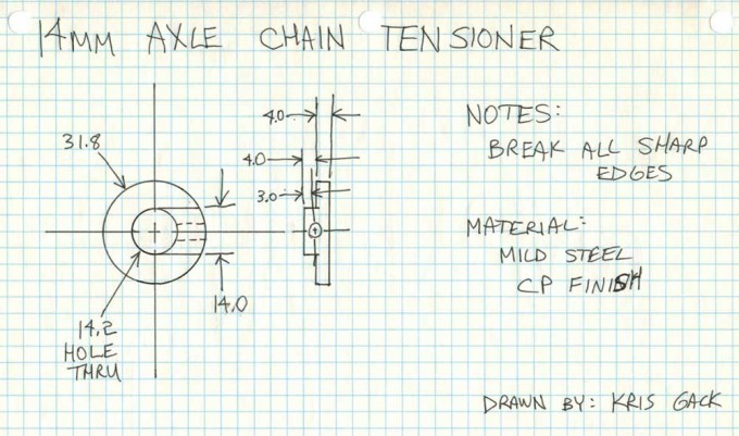 96-14mm-Chain-Tensioner-Drawing