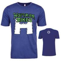 Flaming H Shirt Blue