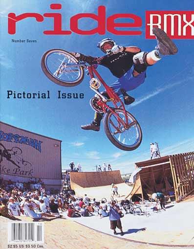 Joe Rich 1993 Ride Bmx Cover