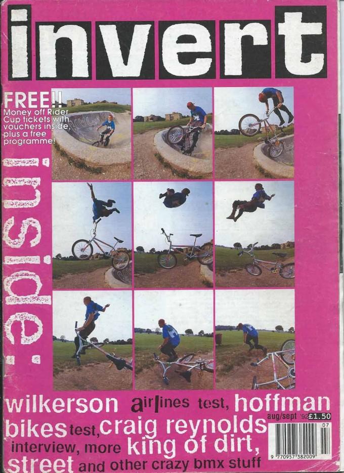 Simon Tabron Invert Cover