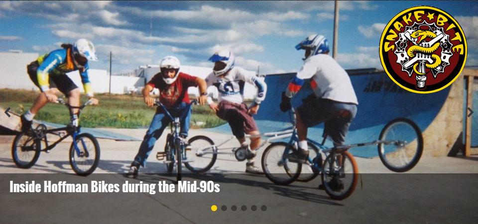 snake bike bmx tribute to hoffman bikes