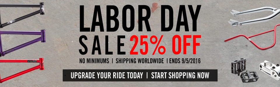 Labor Day Sale Home Page Banner
