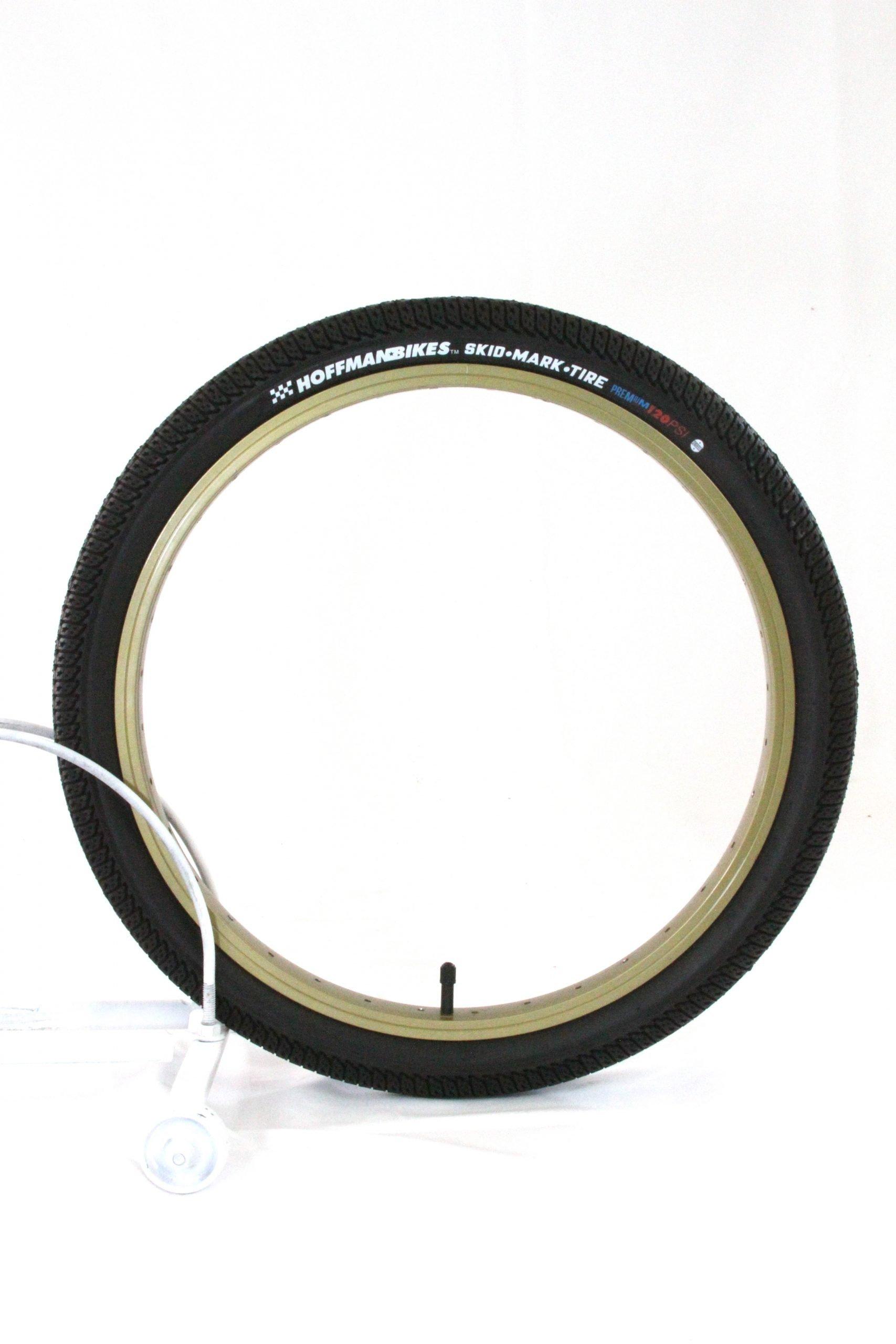 20x1.95 Black Hoffman Bikes Skidmark Tyre
